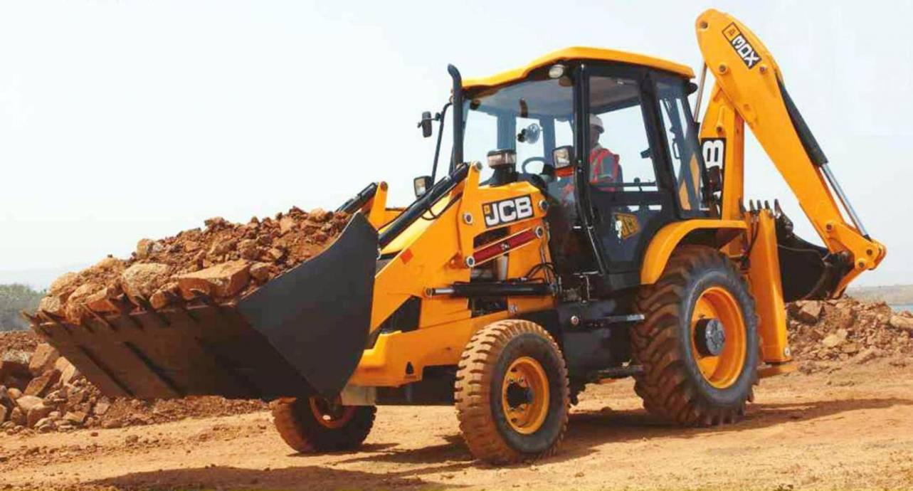 JCB NEW 3DX Backhoe Loader
