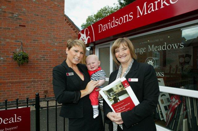 Sarahjane with son Radyson-Hunter and Karen at Long Eaton