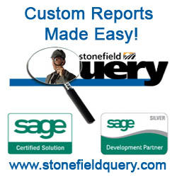 Custom Reporting for Sage SalesLogix from Stonefield Query