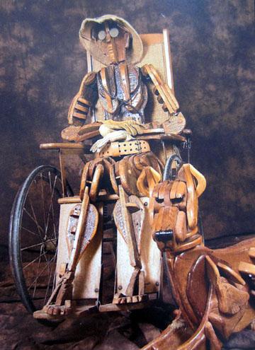 Chuck Wood and Dog by Thomas Thomas