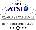 ATSI Award Of Excellence 8 Years