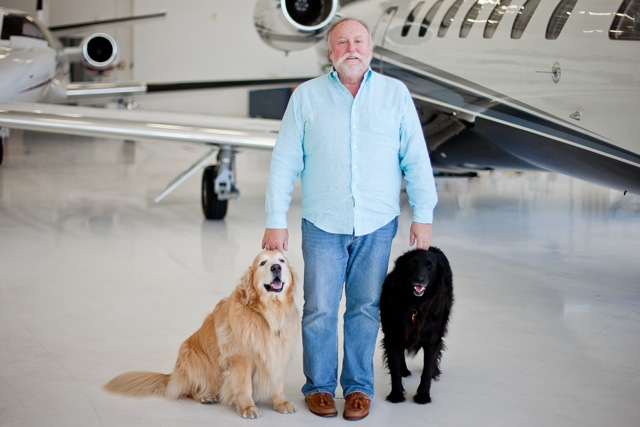 Henry Schubach and His Dogs