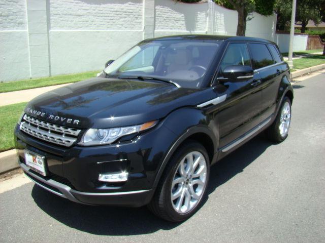 Export 2012 Land Rover Range Rover Evoque World Wide