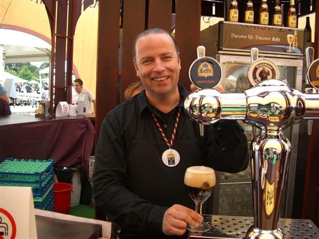 Master Beer Sommelier Marc Stroobandt of the United Kingdom
