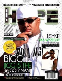 Bigg Jigg Hype Magazine Cover