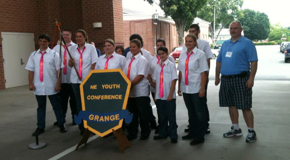 CT's Grange Youth Win First in Spirit Stick Competition