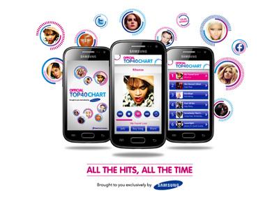 Official Top 40 Chart app