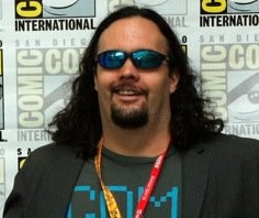Patterson at the recent San Diego Comic-Con event