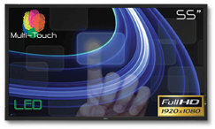"""55"""" LED Multi-Touch"""