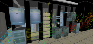 CFD of a data center courtesy of Future Facilities