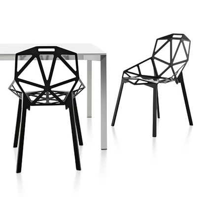 Magis Chair One Stacking Indoor design by Konstantin Grcic in 2003 ...