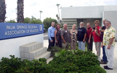 Palm Springs Board of REALTORS and Charity Representatives