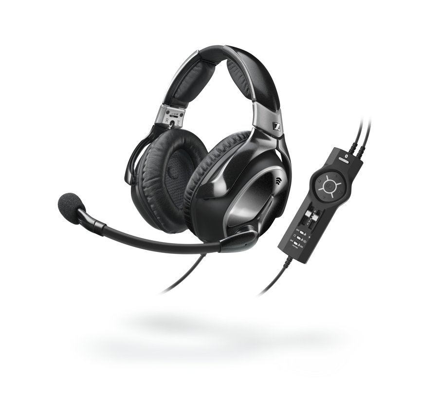 The Sennheiser S1 Digital headset.
