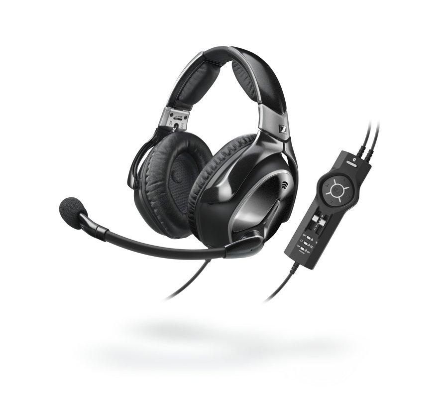 The Sennheiser S1 Digital headset.