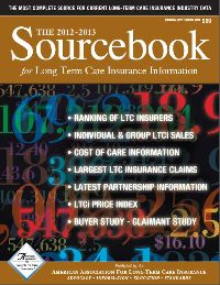2012 Long term care insurance Sourcebook of statistics and research