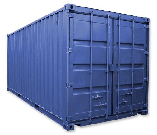 Can you spot Loginno's device on the container?