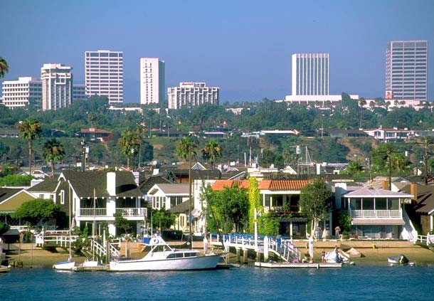 Newport Beach Harbor Is A Popular Attraction In The O.C.