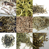 A Selection of Silver Needle Teas Produced Outside China