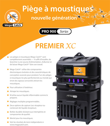 Multi-attractant Premier XC Mosquito Trap
