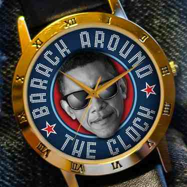 BARACH AROUND THE CLOCK WATCH smaller copy