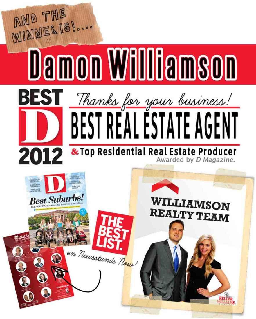 D-Magazine-Best-2012-Real-Estate-Agent-2012-Damon-Williamson