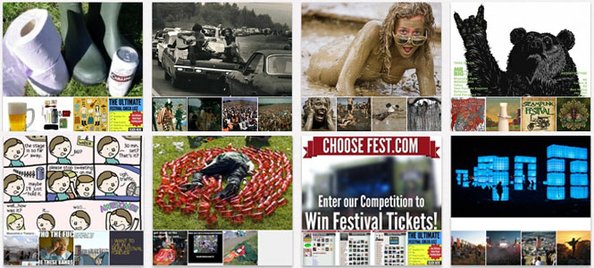 ChooseFest - Festival Reviews, Tickets and Pinterest