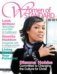 CEO Dianna Hobbs Covers Women of Standard Magazine august 2012 Issue