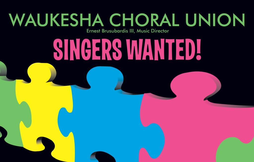 Waukesha Choral Union Auditions August 21, 2012