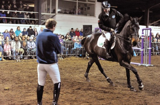 Geoff Billington and Oliver Townend