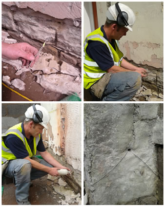 Electro Osmotic Damp Proofing