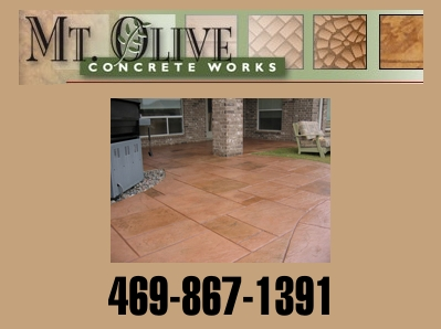 Concrete Walkways, Patios, Courtyards, and Foundations