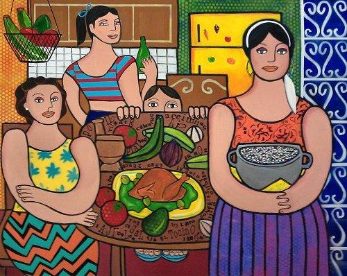 En La Cocina/In The Kitchen