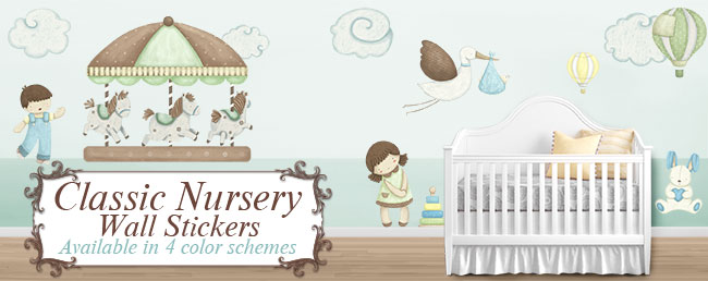 Classic Nursery Collection by My Wonderful Walls