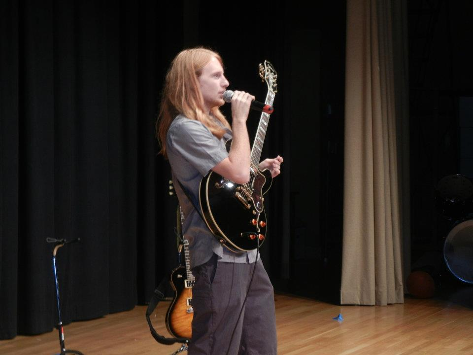 Jersey Shore Jazz and Blues Foundation Scholarship Recipient Scott Reeves