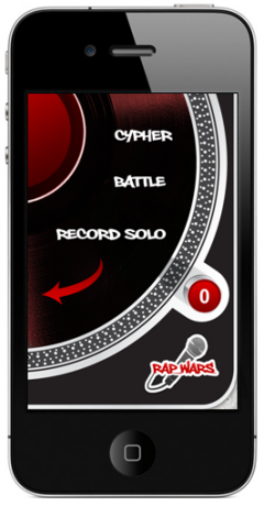 Rap Wars iPhone Rap Battle App Home Screen