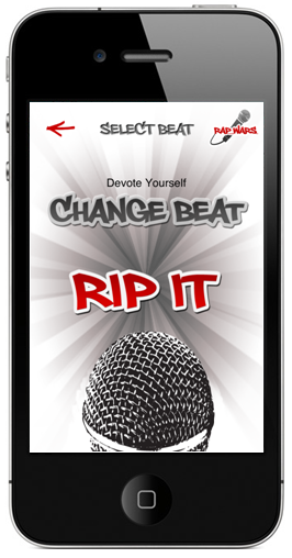Record Raps and Battle iPhone App