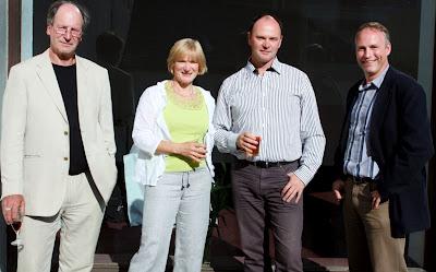 ARPL directors Patrick Lorimer, Rebecca Cadie, Gordon Fleming, Robert Gilliland.