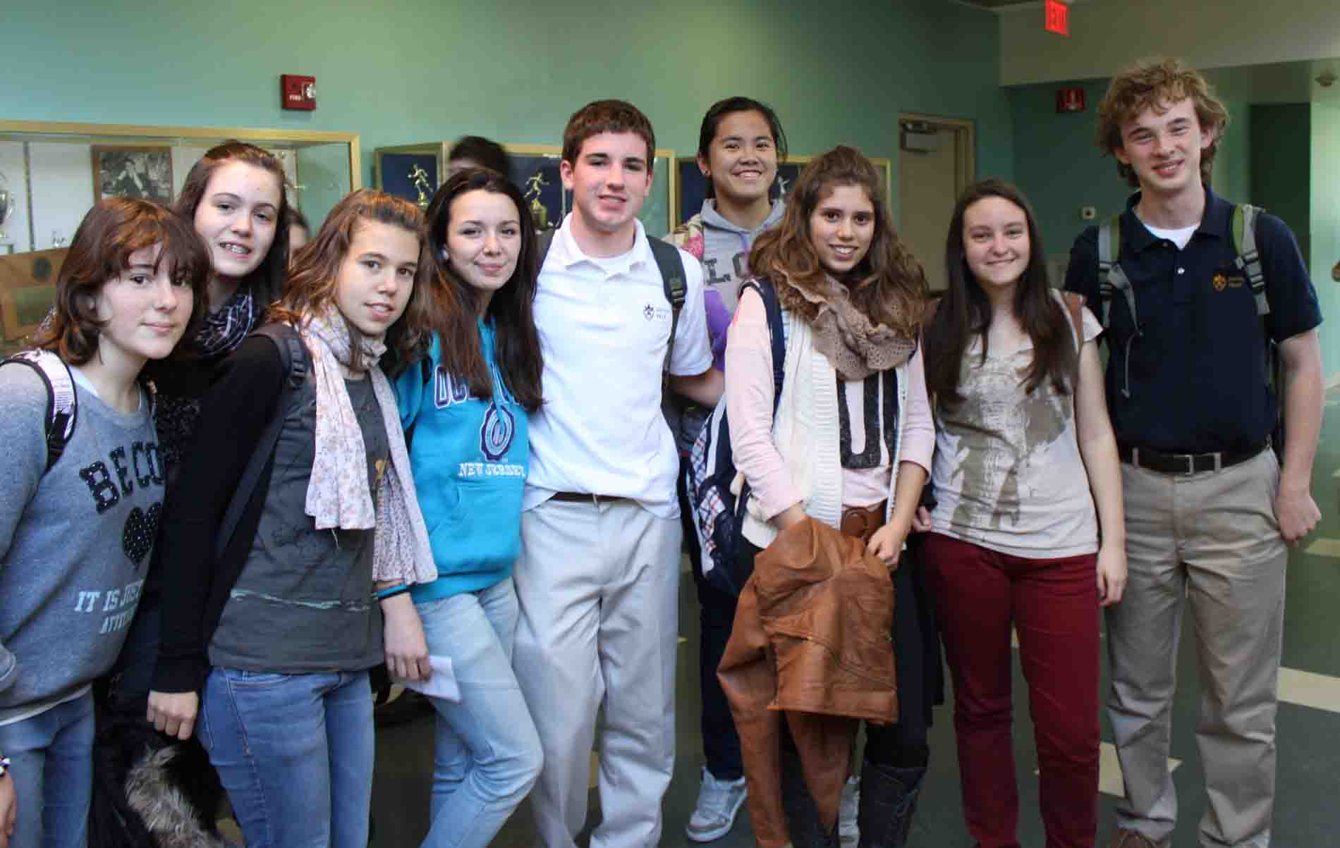 Devon Prep Spanish Exchange Students Enjoy American