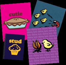 Sassy Slang School Supplies Avaiable at TARGET
