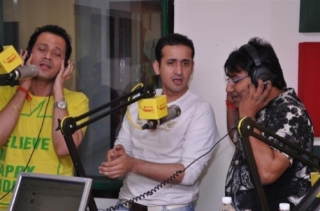 MEET BROS ANJJAN at a Radio Interview