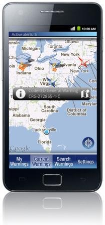 CodeRED Mobile Alert app