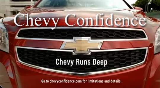 Chevy Confidence Program in Central Florida