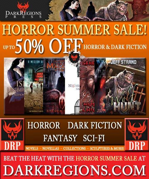 Dark Regions Press Horror Summer Sale