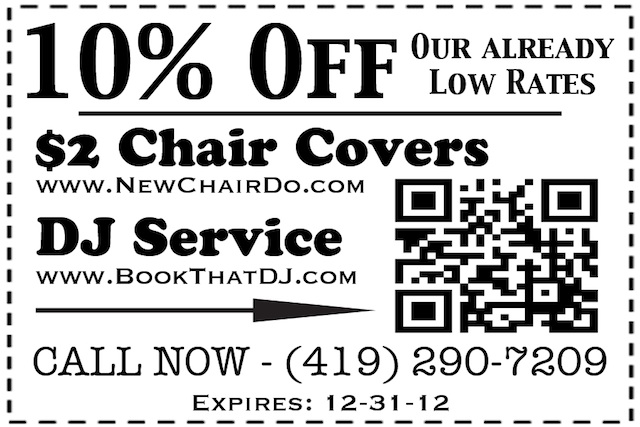 Chair Cover Coupon