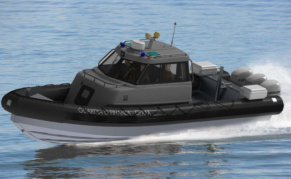 Zodiac MACH 2 RIB for Guardia di Finanza