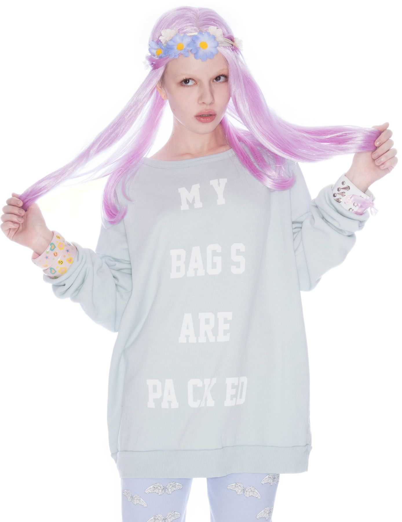 Wildfox My Bags Are Packed Sweater