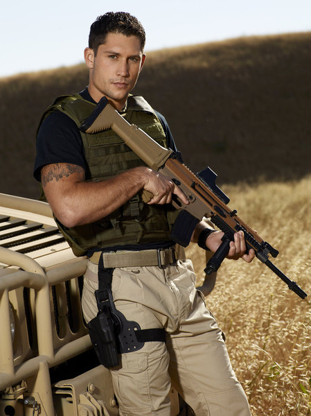 NBC US Operative Talon Smith