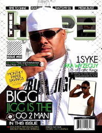 Bigg Jigg Hype mag coverprlog