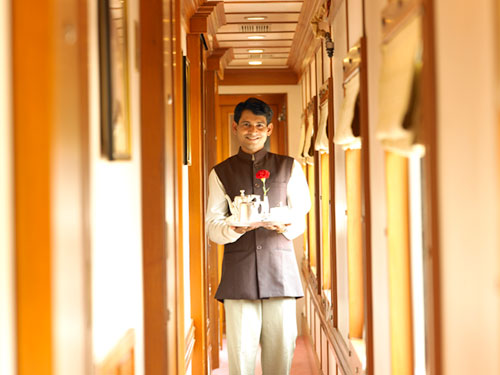 The Golden Chariot Train - Luxury Train Travel India