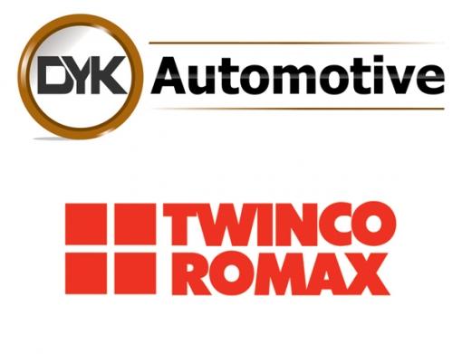 DYK Automotive Logo and Twinco Romax Logo